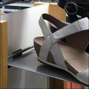 Shoe Tower Slatwire-Ledge Details