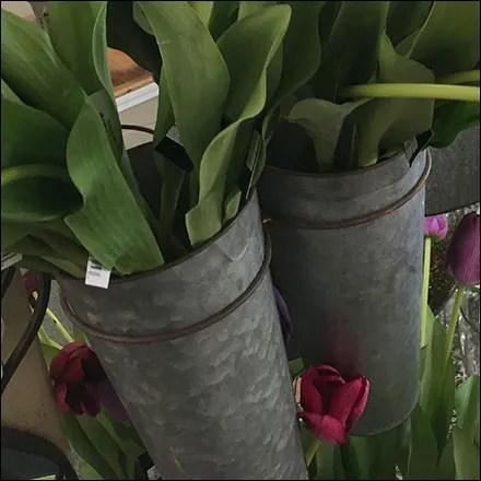 Galvanized Flower Vase Ring Hook