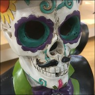Top-Hatted Halloween Calaveras Come-Out