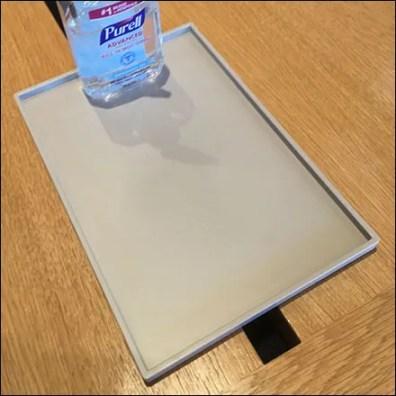 Apple CoronaVirus Personal Sanitizer Tray