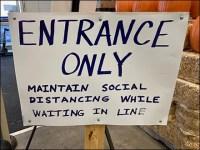 CoronaVirus Do-It-Yourself Entrance Sign