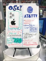End-Aisle Whiteboard Promotion