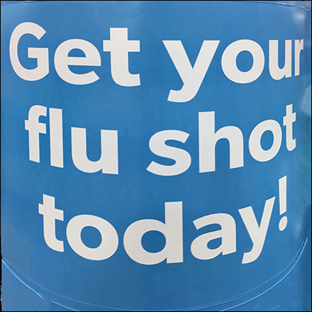 Professional Warehouse-Club Flu Shot Promo