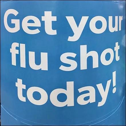 Professional Warehouse-Club Flu Shot Promo