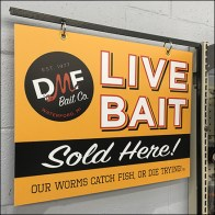 Live-Bait Sold Here Guarantee