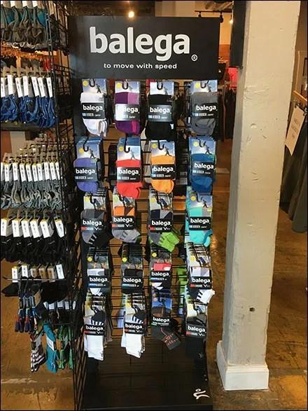 Balega Running Socks Tower Rack