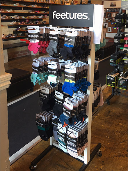 Feetures Socks Tower Rack