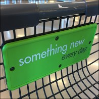 Nordstrom-Rack Branded Shopping Cart