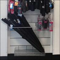Nordstrom Rack Slatwall Sidesaddle Umbrella Rack