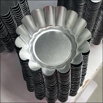 Petite Aluminum Pie Pans Sold Loose