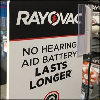Rayovac Battery Extensible-Arm Sign Outriggers