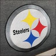 Steelers Licensed Cooler Tote Pallet DisplaySteelers Licensed Cooler Tote Pallet Display
