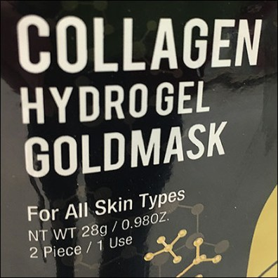 Gold-Mask Shelf-Edge Appeal