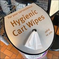Hygienic Cart-Wipe Designer Dispenser