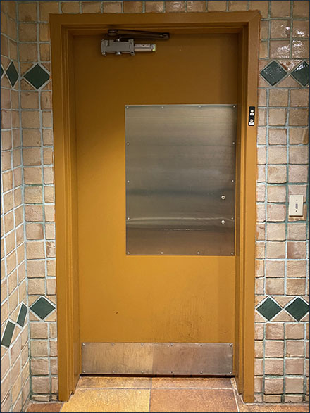 Wegman's Grocery Restroom Inspection Checkpoint