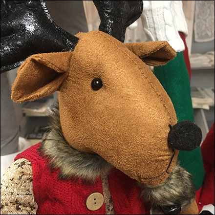 Christmas Chris-Moose Plush Merchandising