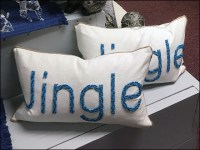 Jingle-Jingle Christmas Pillows