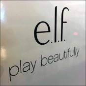 Elf Cosmetics Queue Display Branding
