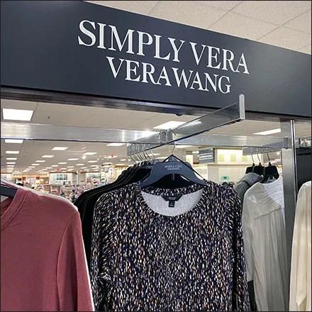 Simply-Vera-Wang Mass Merchandising
