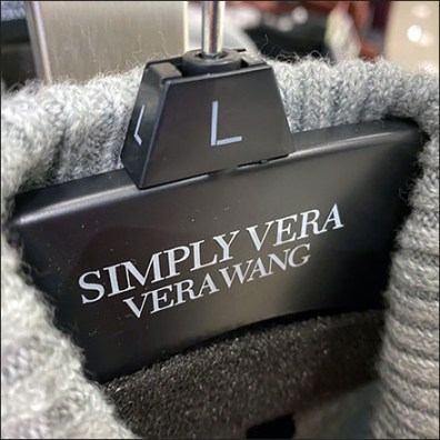 Vera-Wang Branded Clothes Hangers