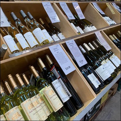 Unlimited Wine Selection Island