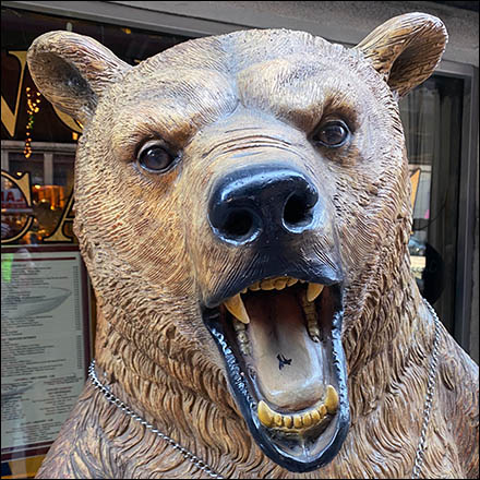 Angry Russian Dancing Bear Mascot