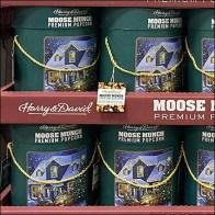 Harry-&-David Moose-Munch Popcorn Hang-Tag