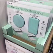 2-in-1 Charger Bundle Carded Merchandising