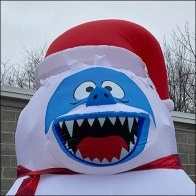 Tis-Your-Season Inflatable Abominable Snowman