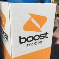 Boost-Mobile Bollard Advertising Sleeve