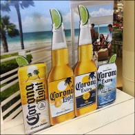 Corona Light-Beer Table-Top Display