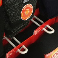 Thermal Socks Plastic Loop-Hook