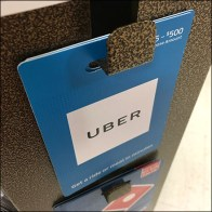 Uber Gift-Card Goldvein Butterfly Hook