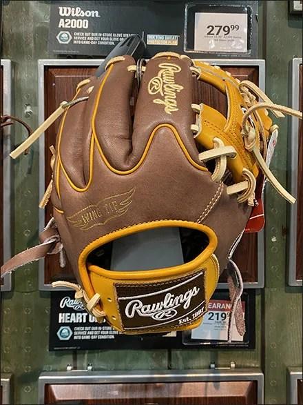 Dicks' Baseball Glove Wall-Plaque Array