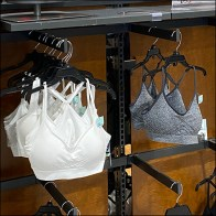 DSG Half-Height Sports-Bra Rack
