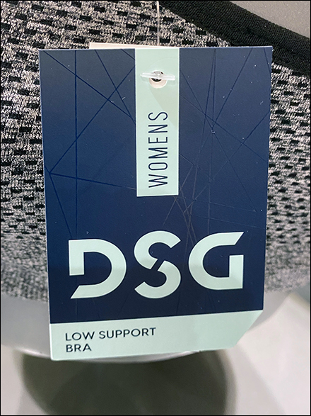 DSG Sports-Bra Boob Body-Form