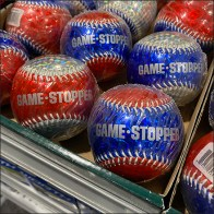 Game-Stopper Baseball Cardboard-Tray Display