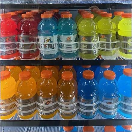 Gatorade Cooler Custom Shelf Management