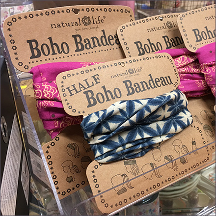 Full and Half Carded Boho Bandeau