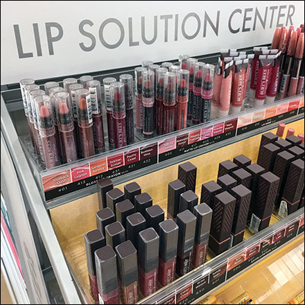 Comprehensive Lip Solutions Center Display