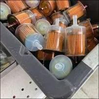 Fuel-Filter Plastic Tray Bins