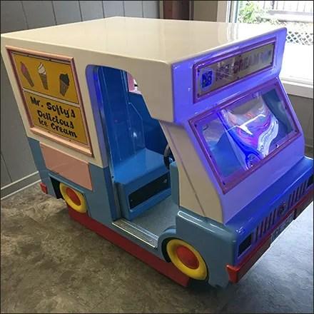 Mr. Softy Ice-Cream-Truck Coin-Op Amusement