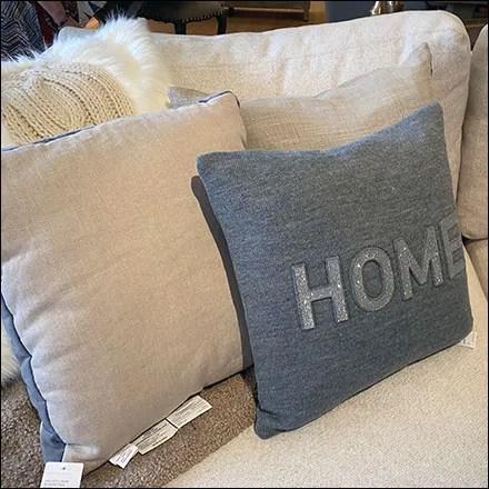 Sectional Furnishing Pillow Prop