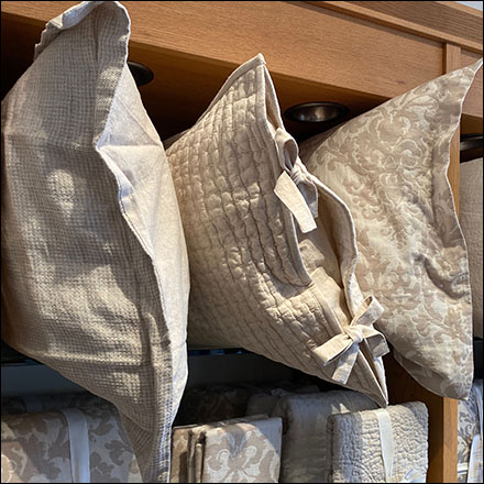 Pillow Wall Merchandising Display