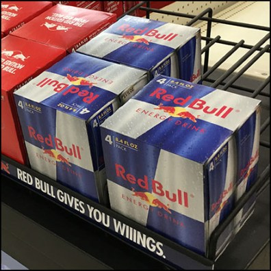 RedBull Grab-N-Go Gravity-Feed Rack