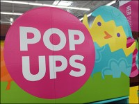 Alternate Pop-Up Greeting Card Display