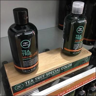 Tea-Tree Shampoo Wood PedestalTea-Tree Shampoo Wood Pedestal