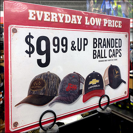Famous-Name Branded Ball Caps