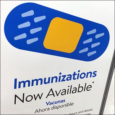 Immunization Bandaids Available Free