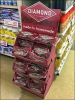 Diamond Made-For-Homemade Walnuts Display